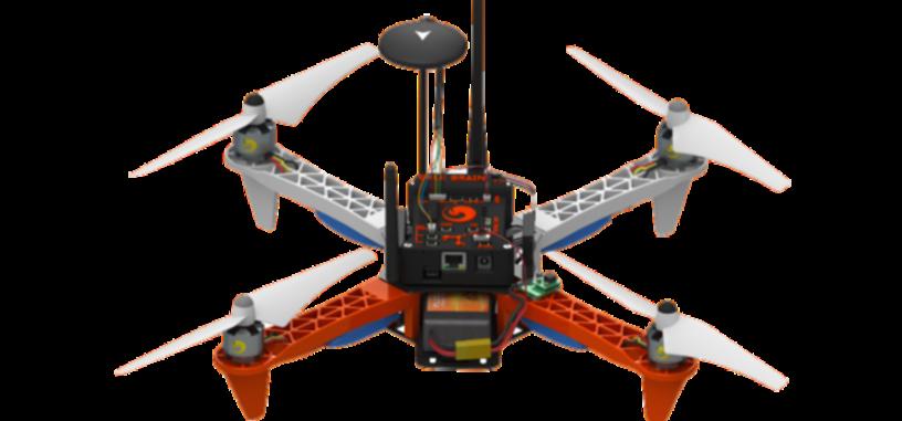 Este dron lleva instalado Ubuntu y es capaz de usar aplicaciones