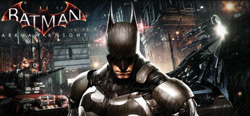 Conviértete en Batman en el nuevo tráiler de 'Batman: Arkham Knight'