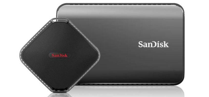 SanDisk presenta un SSD externo de 2 TB con USB 3.1