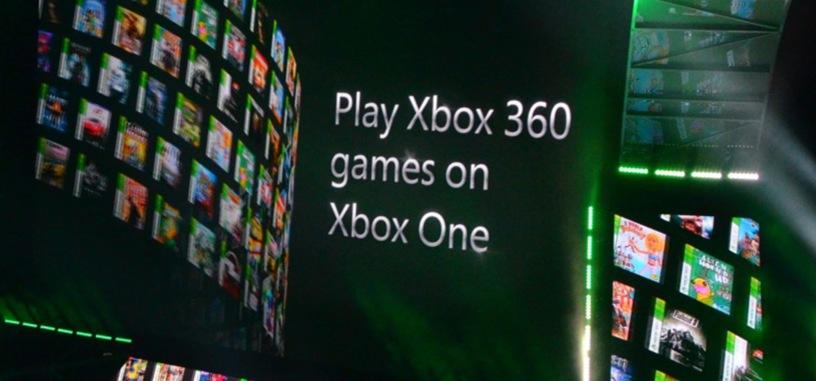 Los juegos de Xbox 360 se podrán jugar en Xbox One
