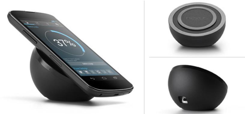 El cargador inalámbrico del Nexus 4 se deja ver en el Google Play de EE.UU