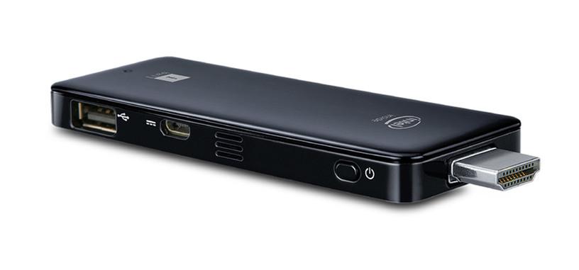 Microsoft también tiene un stick HDMI que es un PC listo para conectar a un televisor