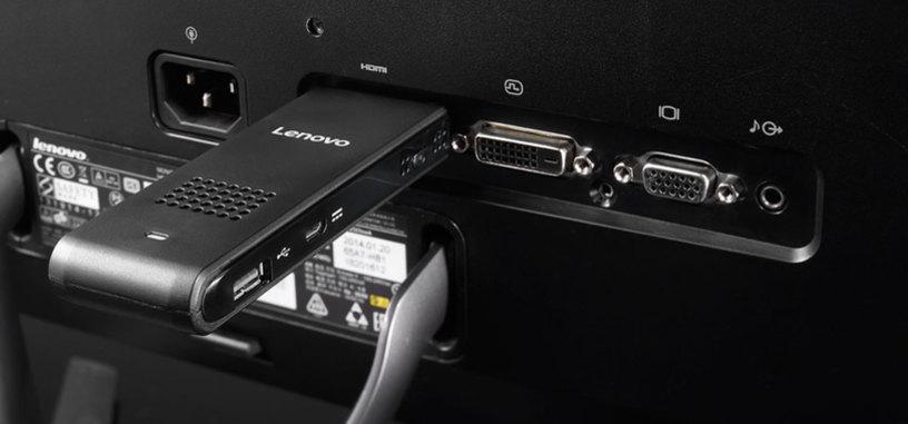 Lenovo también tiene su PC con forma de stick HDMI