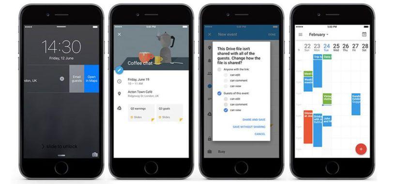 Publicada la actualización de Google Calendar para iOS con importantes novedades