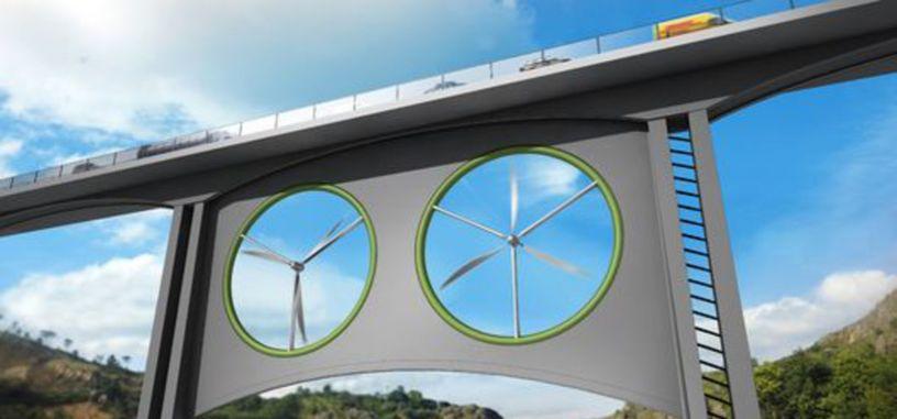Añadir turbinas eólicas debajo de los puentes no es tan alocado como parece