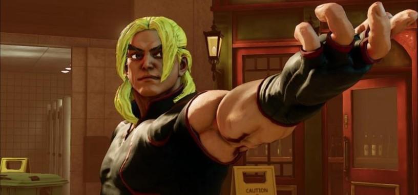 Qué bien le sienta el amarillo pollo a Ken Masters en este vídeo de 'Street Fighter V'
