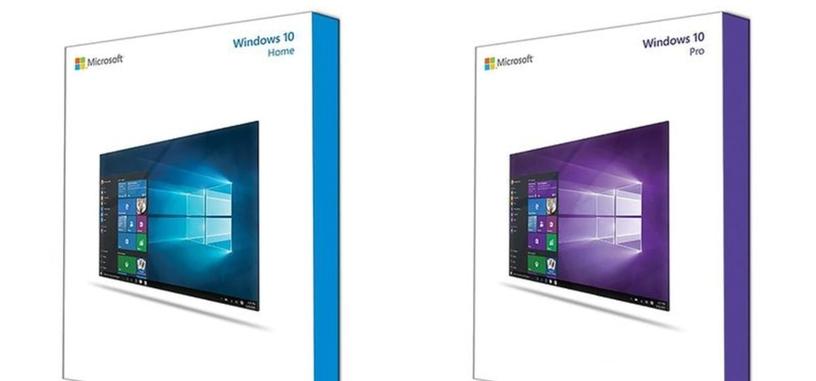 Estas serían las cajas en las que se venderá Windows 10 en disco y llave USB