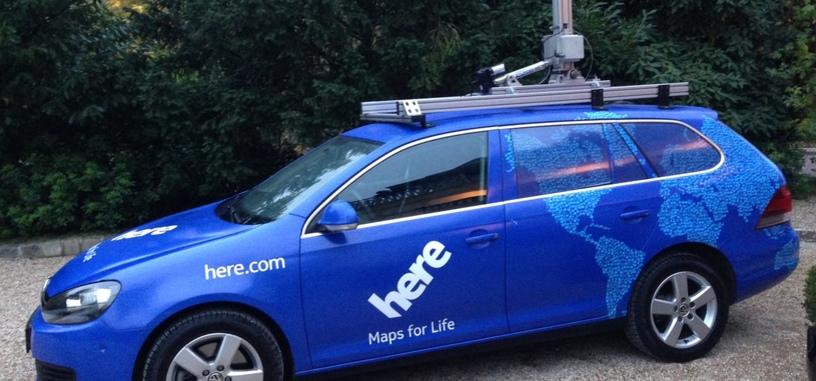 Nokia vende su división de mapas HERE por 2.800 millones de euros