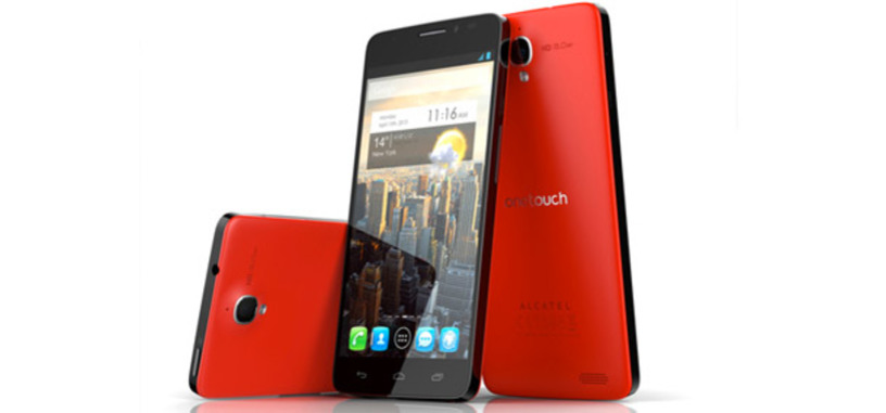 Alcatel One Touch Idol X, pantalla de 5 pulgadas, 7.1 milímetros de grosor