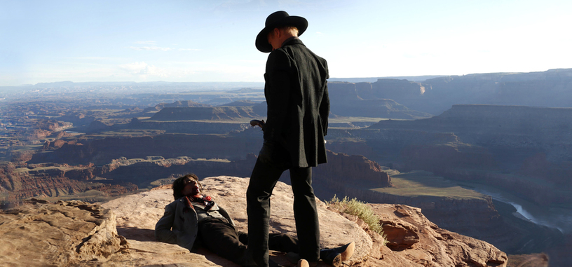 Anthony Hopkins y Evan Rachel Wood en el primer avance de 'Westworld'