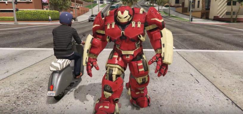 La armadura Hulkbuster de Iron Man llega a las calles de Los
