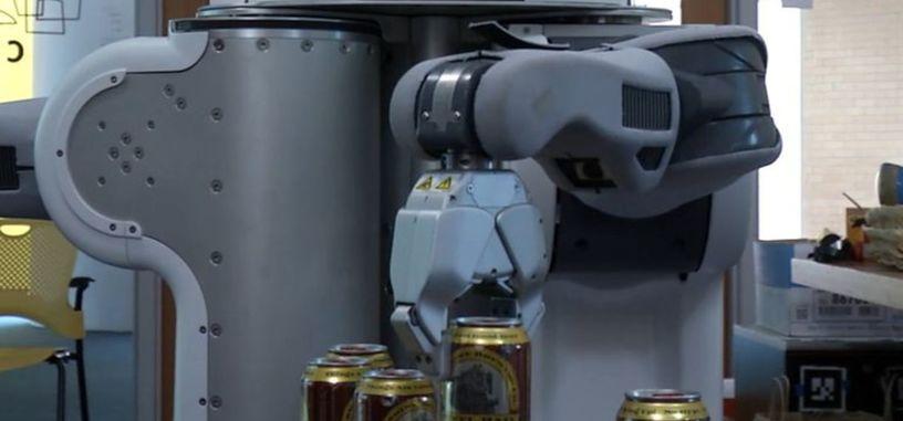 Nada más útil que robots para atender bares y servir cervezas