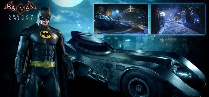 Súbete al batmóvil de 1989 en el nuevo DLC de 'Batman: Arkham Knight'