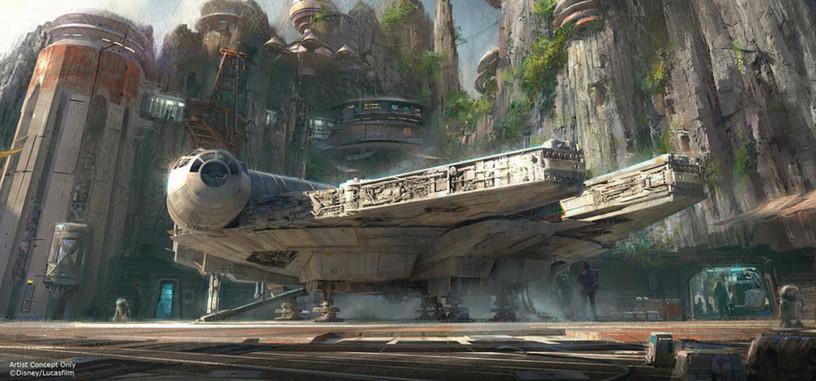 Disney añadirá zonas temáticas de Star Wars a sus parques de atracciones