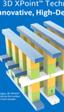 Intel Optane será la marca bajo la que se ponga a la venta los SSD con memoria 3D XPoint