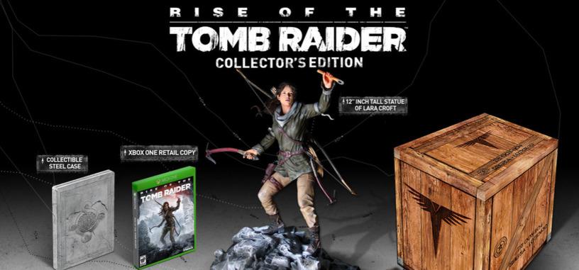 'Rise of the Tomb Raider', así será la edición de coleccionista para Xbox One