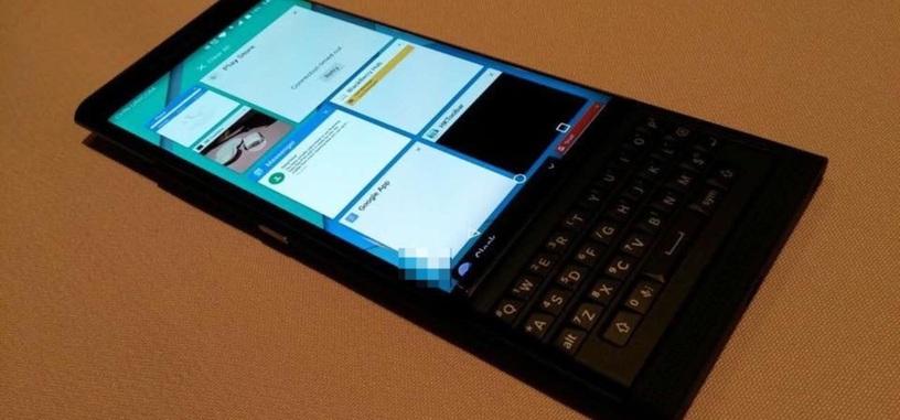 Nuevas fotos de la BlackBerry Venice con Android
