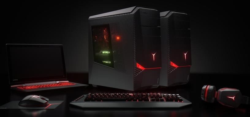 Lenovo presenta nuevos PC y periféricos para jugadores