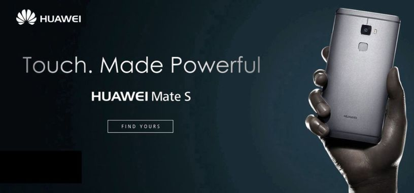 Huawei Mate S, incluye pantalla con sensores de fuerza, se adelanta a los nuevos iPhone