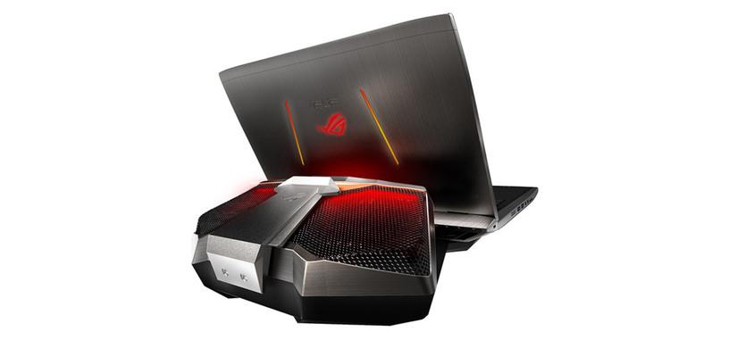 Asus ROG GX700 es un portátil para juegos con refrigeración líquida externa