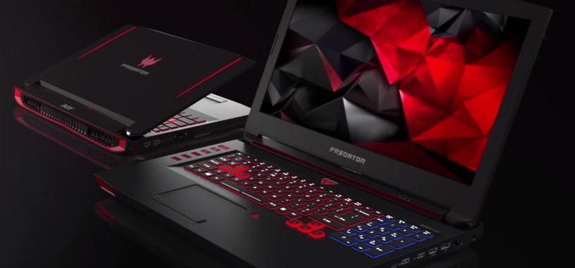 Acer presenta los portátiles para juegos Predator 15 y Predator 17 con procesadores Skylake