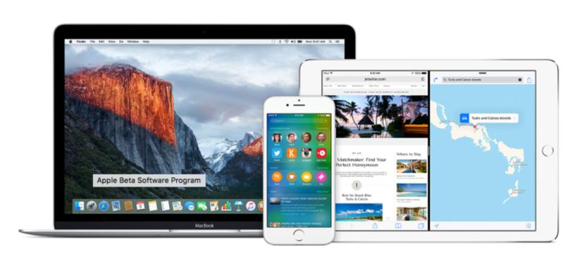 Disponible para instalar la beta pública de iOS 9.1