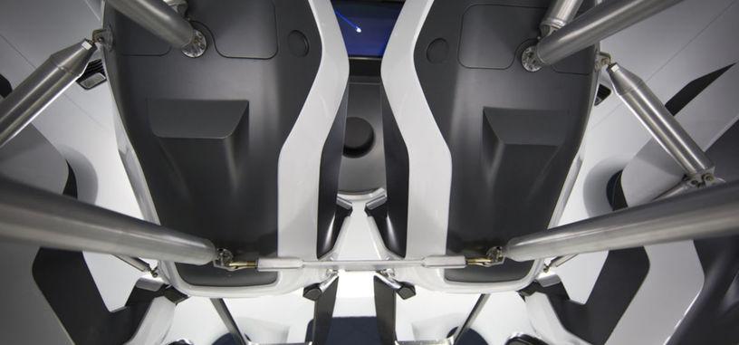 SpaceX muestra el primer vídeo y fotos del interior de su transbordador espacial de pasajeros