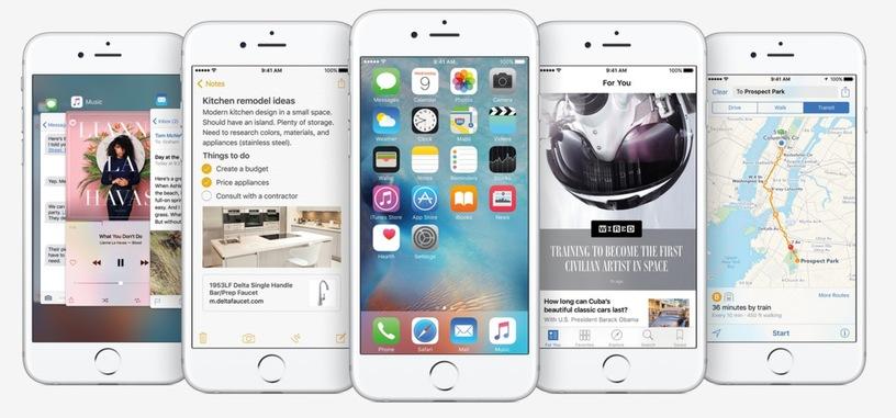 Análisis: iOS 9, mejoras de rendimiento y muchos pequeños cambios