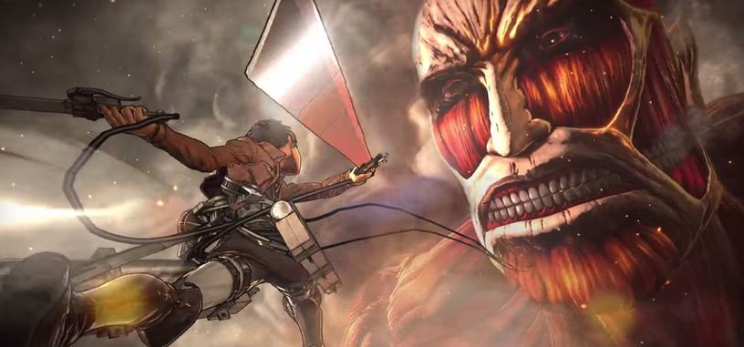 Primer vídeo de juego de 'Attack on Titan' para PlayStation
