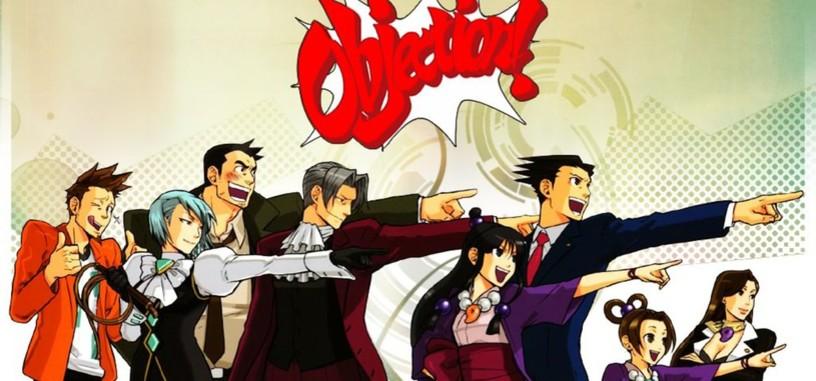 ¡Un momento! El anime de 'Phoenix Wright' está en desarrollo