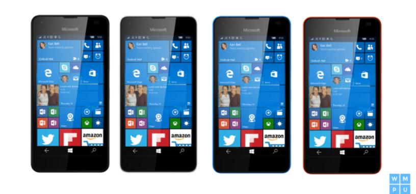Microsoft renovará la gama baja de sus teléfonos con el Lumia 550 con Windows 10