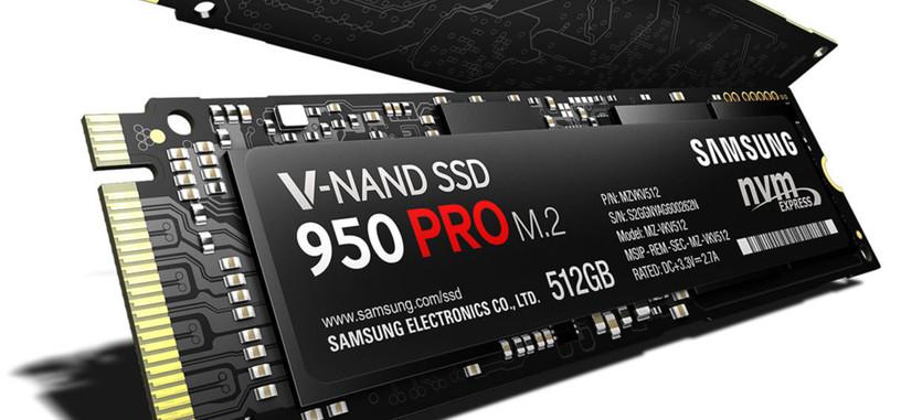 El nuevo Samsung SSD 950 Pro te dará hasta 2.500 MB/s de lectura