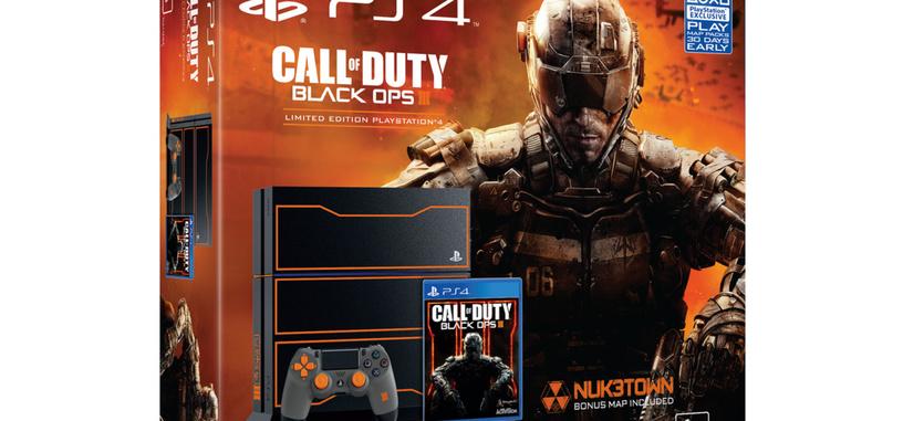 El naranja reina en esta PlayStation 4 edición limitada de 'Call of Duty: Black Ops 3'