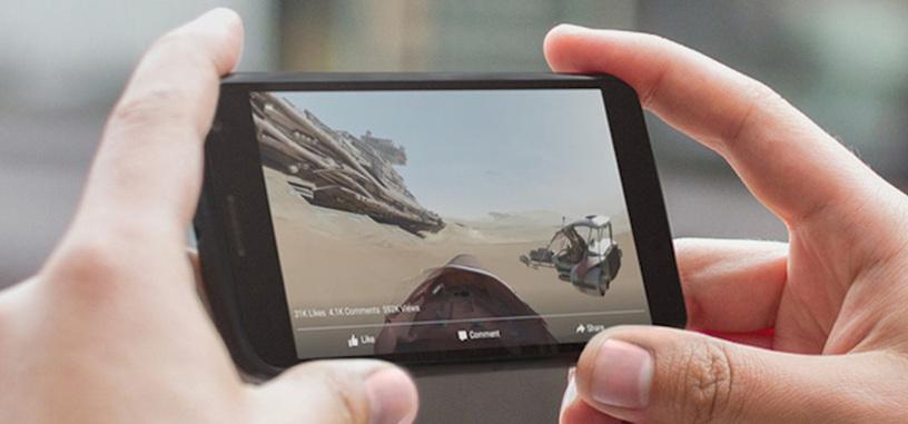 El reproductor de vídeo de Facebook ahora permite reproducir vídeos en 360º