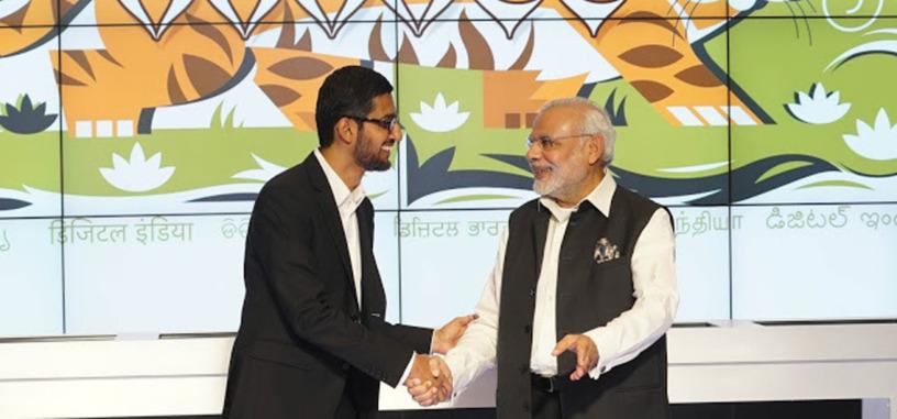 Google proporcionará Wi-Fi gratis en 400 estaciones de tren en la India