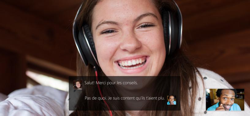 La traducción instantánea de Skype Translator llega a la aplicación de escritorio de Skype
