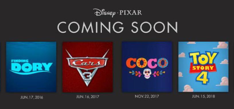 Pixar pone fecha de estreno a 'Toy Story 4', 'Los Increíbles 2' y otras de sus películas