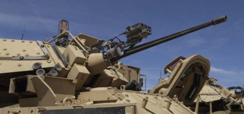 El ejército de EE. UU. prueba un cañón de 50 mm para derribar drones
