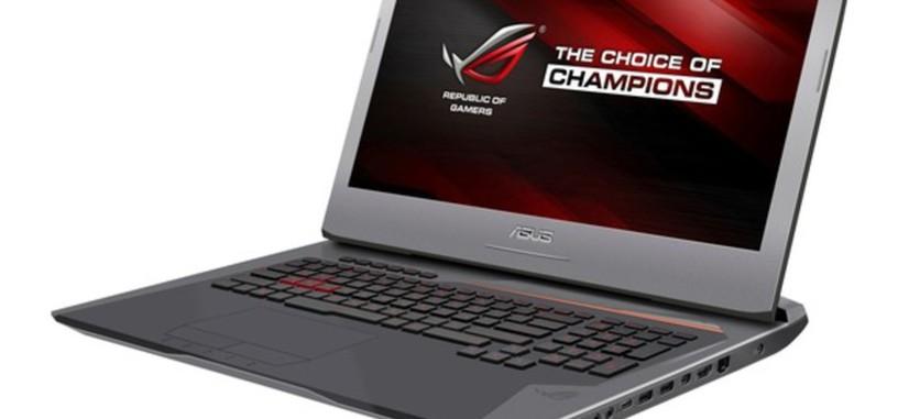 El nuevo portátil para juegos Asus ROG G752 con i7-6700HQ, GTX 980M y Nvidia G-SYNC
