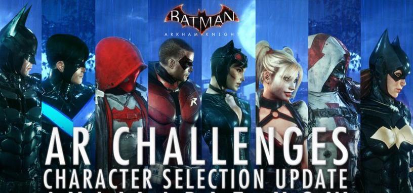 'Batman: Arkham Knight' ya dispone de nuevos personajes jugables para los Desafíos de RA