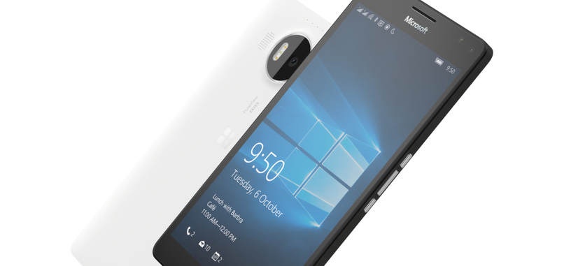 Microsoft comienza la venta de los Lumia 950 y 950 XL