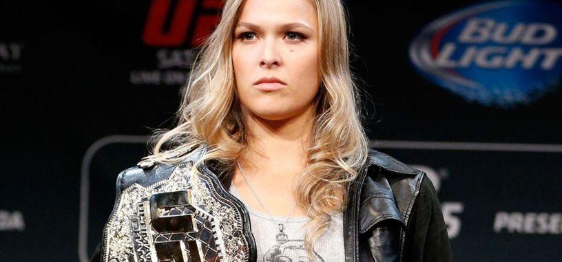 ¿Será la campeona mundial de artes marciales mixtas Ronda Rousey la próxima Capitana Marvel?