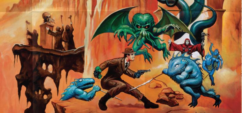 Warpo presenta su línea de juguetes 'Legends of Cthulhu' con unos anuncios retro