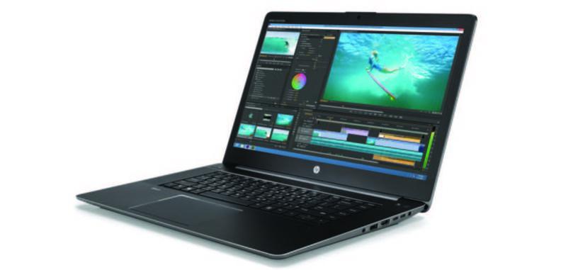 HP renueva su serie ZBook de portátiles con procesadores Xeon y pantalla 4K