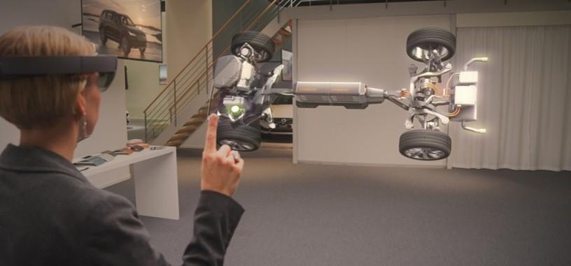 Microsoft y Volvo se unen para llevar a las HoloLens al mundo del automóvil