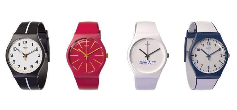 Swatch ahora tiene relojes con NFC para facilitar los pagos sin contacto
