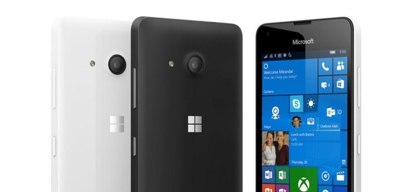 Microsoft pone a la venta en Europa el Lumia 550 con Windows 10 por 119 euros