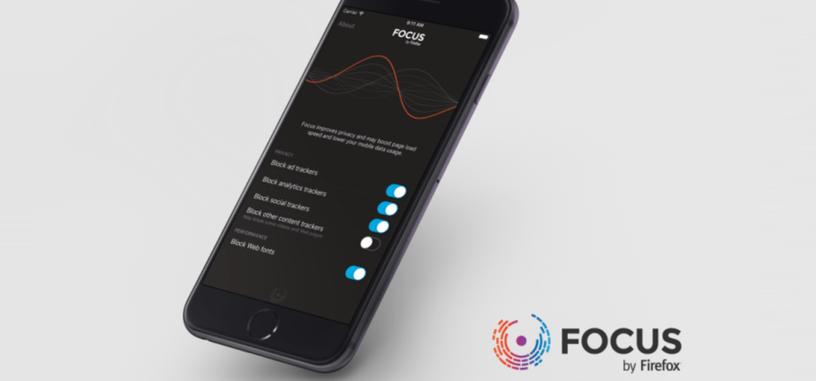 Focus es el nuevo bloqueador de contenidos para iOS 9 hecho por Mozilla