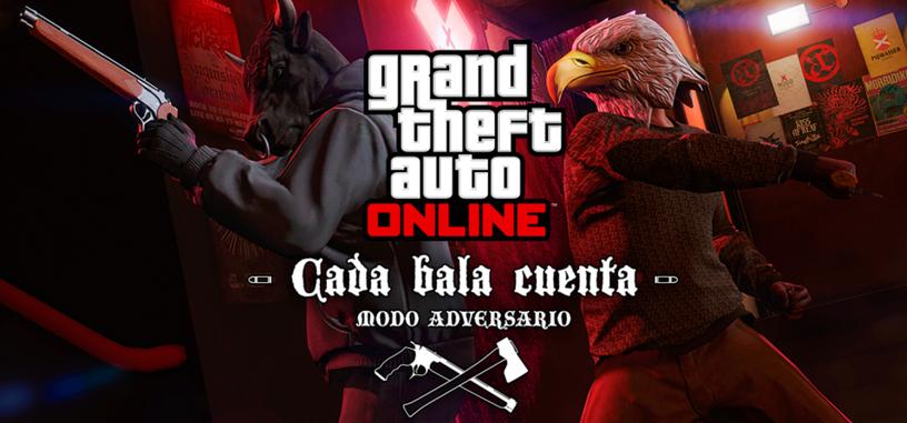 'Cada bala cuenta' es el nuevo modo adversario de 'GTA Online'