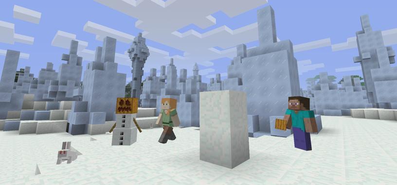 Microsoft actualiza la versión de consolas de 'Minecraft'